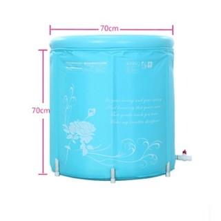 @妙奇特@加厚版之摺疊式SPA浴桶/泡澡桶/活動式浴缸 充分放鬆身心
