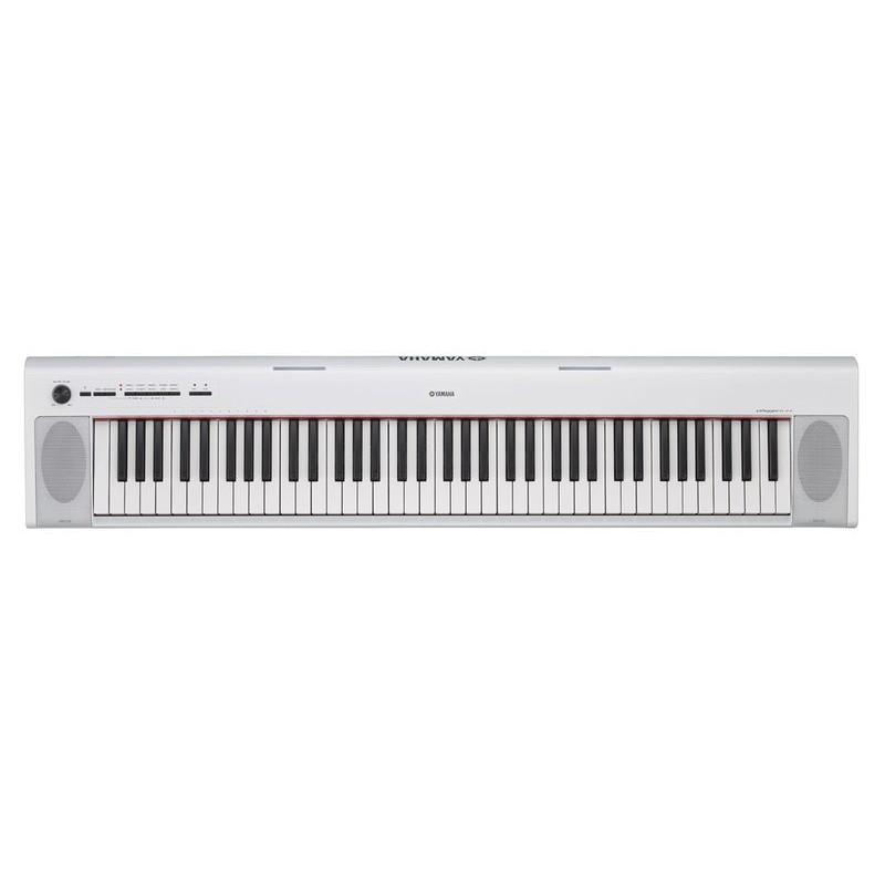 ★凱恩音樂教室★免運優惠再送原廠耳機 YAMAHA 經銷商 NP-32 WH 76鍵 NP32 電子琴 手提式