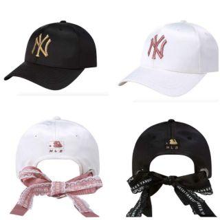韓國 MLB X TWICE 緞帶 棒球帽 帽子