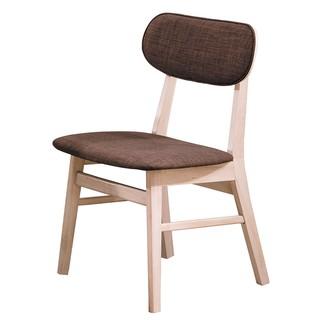 【toro】凱夫原木洗白餐椅 HY-B451-07咖啡布 B451-08綠色 B451-09淺咖啡