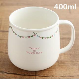 小清新陶瓷杯 簡約咖啡杯牛奶杯飲料杯 創意馬克杯子