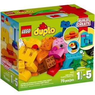 Brick高 lego 10853 樂高R得寶R創意拚砌箱 禮盒 得寶 Duplo 幼兒 1-5歲