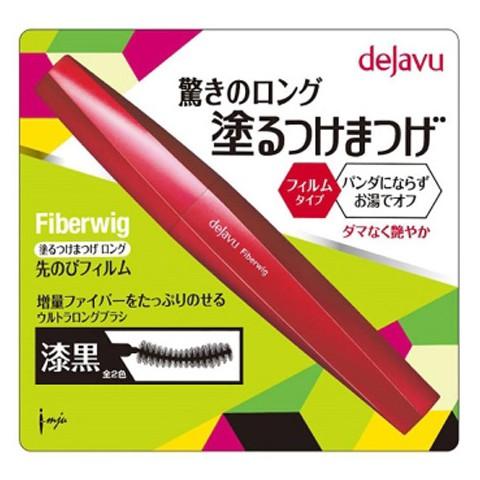 【小三美日】Dejavu Fiberwig 刷的假睫毛 放肆驚艷加長版-純黑(8.3g)睫毛膏【D124211】