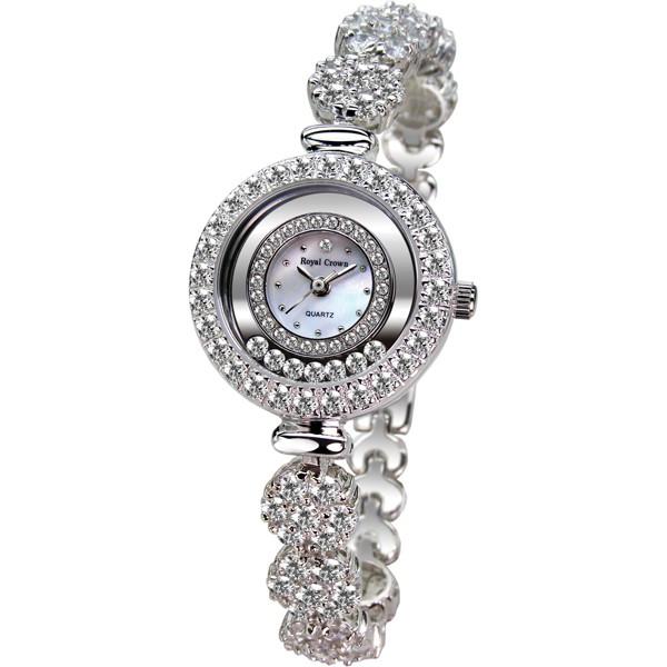 Royal Crown 義大利風華晶鑽錶/手錶(5308)
