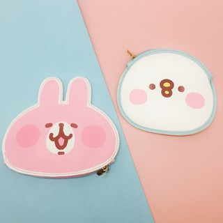 客秋皮~正版授權卡娜赫拉 Kanahei 兔兔P助 卡娜赫拉的小動物 造型票夾零錢包 悠遊卡套 卡包