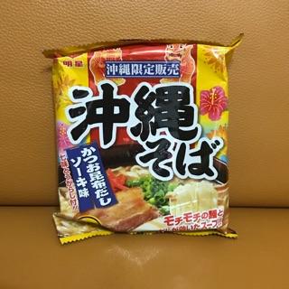 日本沖繩限定 明星 沖繩泡麵 昆布