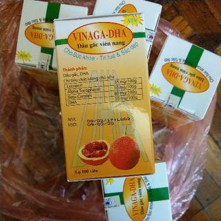 越南帶回 Vinga-DHA 木鱉果油
