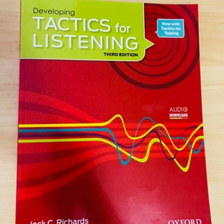 Develop tactics for listening
