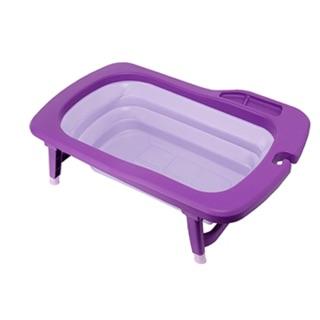 韓國Mathos Loreley時尚折疊式浴盆-紫