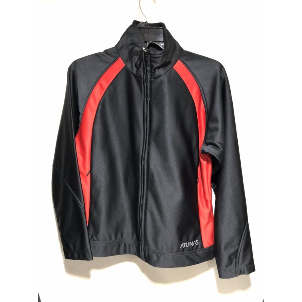 【ATUNAS】保暖外套- 黑紅 女款 8623P