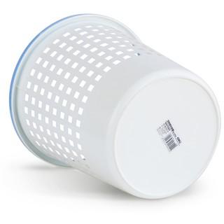 (滿260元出貨)得力(Deli)9554-雙色圓形塑料紙簍直徑28cm 清潔桶 垃圾桶