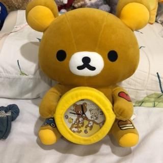 拉拉熊 抱時鐘