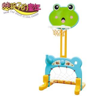 兒童籃球架嬰兒籃球足球門男女孩塑料玩具寶寶室內投籃框igo『限時搶購 關注有禮』