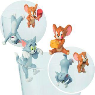 日本 10月新品 PUTITTO 奇譚 迪士尼 湯姆貓 傑利鼠 公仔 玩偶 杯緣子