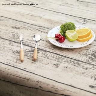 桌布 木紋 仿木紋 桌巾 裝飾布 棉布 攝影道具 攝影背景 攝景桌布 咖啡廳 餐廳 佈置 100x100