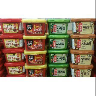 (超低價)韓國CJ黃豆醬/CJ蔬菜醬/SAJO辣椒醬500g