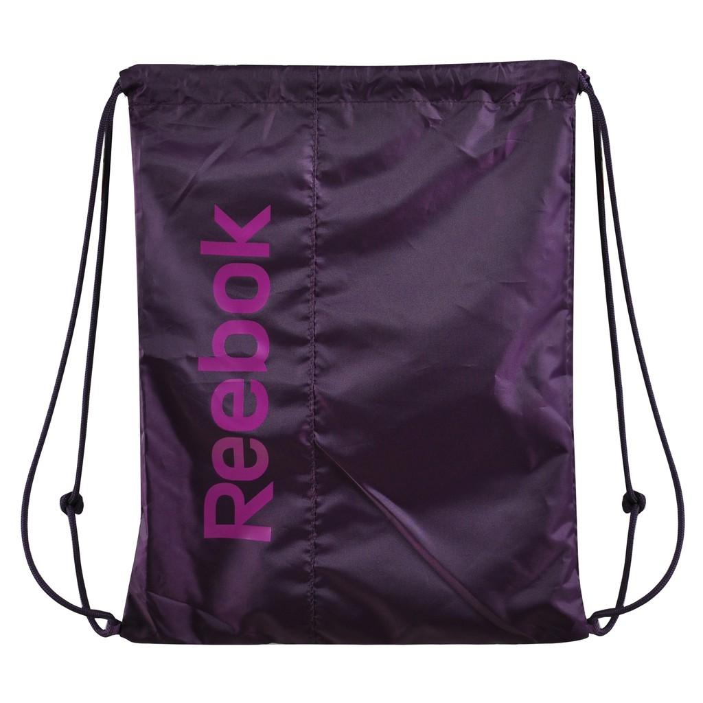 REEBOK SPORT ROYAL GYMSACK 束口袋 健身 慢跑 休閒 紫 【運動世界】 AB1273