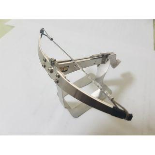 不鏽鋼 金屬模型 模型弩 模型十字弓 迷你十字弓 迷你弩 收藏擺設