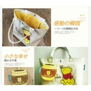 日本郵局限定 小熊維尼 手提包 托特包(現貨不用等)