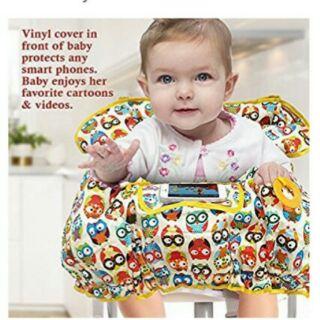 現貨。限量親膚幼兒椅套。適用全品牌餐椅、購物車(costco完全貼合)。