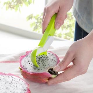 可愛高品質冰淇淋芒果水果勺