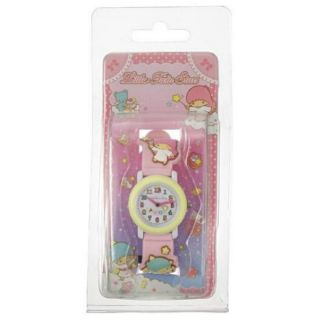 (預購)日本 三麗鷗 雙子星 kikilala 兒童手錶 兒童錶 卡通錶 立體錶帶 無防水