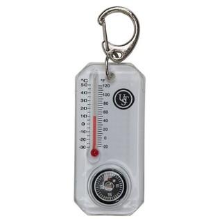 ~悠遊戶外~美國品牌正品UST CT 溫度計指北針鑰匙圈羅盤登山露營野外緊