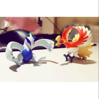 神奇寶貝 寶可夢 日版 小型吊卡系列 TOMY公仔 鳳王(鳳凰) 洛奇亞