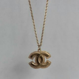 Chanel 香奈兒磨砂雙C雙層項鏈