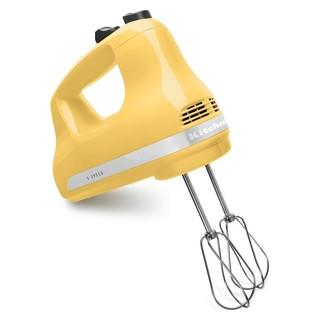 【JKL美國代買】- KitchenAid 五段速手持打蛋器 (黃色)