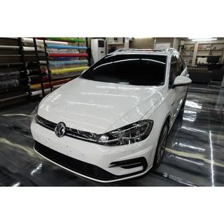 福斯 Volkswagen golf variant 全車包膜 全車貼膜 全車犀牛皮 車頭犀牛皮 SUNTEK 3M