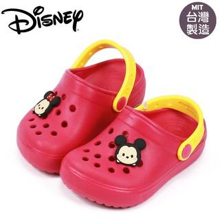 童鞋/Disney迪士尼tsumtsum米妮兒童布希鞋.花園鞋.洞洞鞋(417105)桃15-20號
