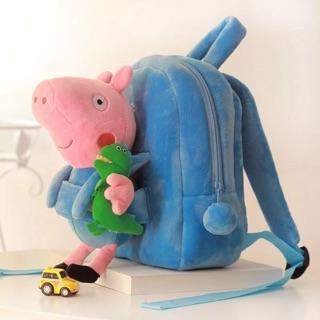 粉紅豬小妹 佩佩豬 雙肩包 書包 背包