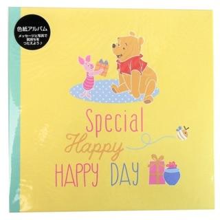 24hr寄貨 日本進口 正版 迪士尼 小熊維尼 Winnie 維尼 相片卡片 生日卡 卡片 手作卡片