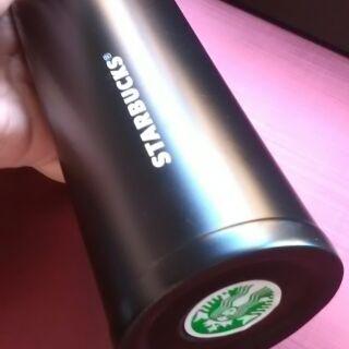Starbucks  彈跳保溫杯 黑色