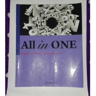 All in ONE  BOOK2 二手英文書