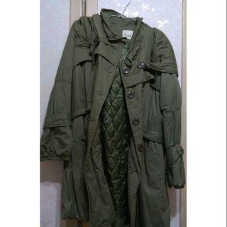長版軍外套