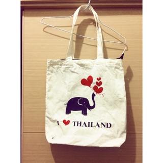 可愛泰國大象提袋