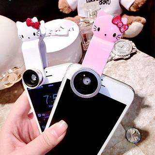 訂單滿350出貨450 哦高清魚眼廣角鏡頭 手機廣角鏡頭三合一 KT貓特效微距特效鏡頭廠家