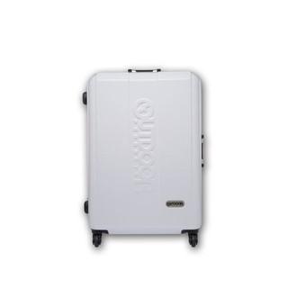 OUTDOOR 炫彩時尚26吋鋁框旅行箱-白x藍