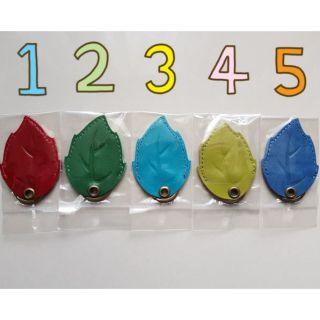 葉子形狀電梯磁扣套,感應磁扣套,造型磁扣套,磁扣鑰匙圈