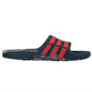 百狗體育 ADIDAS Duramo Slide 男用運動拖鞋 墨綠/紅 大理石 一體成型 無接縫 不怕水 AQ5257