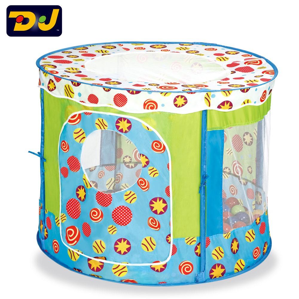 DJToys-寶貝星球遊戲球屋 (提袋款,不含球)