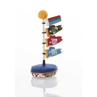 現貨~日本小物~日式鯉魚旗桌上裝飾品