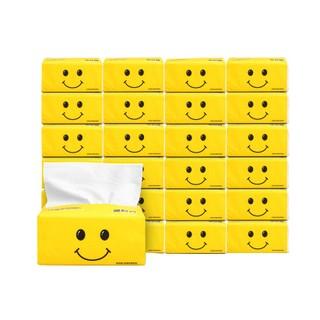 現貨✿(下單請選宅配)原木抽紙24包面巾紙整箱批發嬰兒紙巾 衛生紙餐巾紙家庭裝 ~百搭