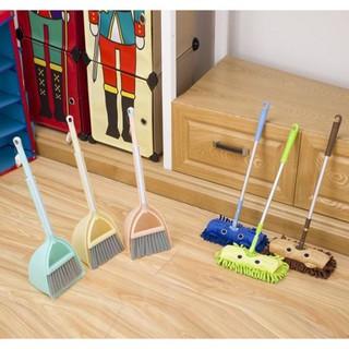 【預購】 兒童迷你掃把拖把玩具組合