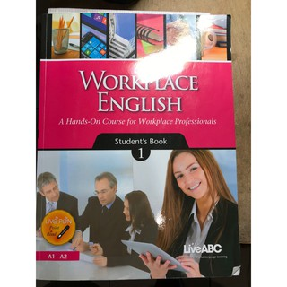 Workplace English Student's Book 1 A1-A2 職場英文