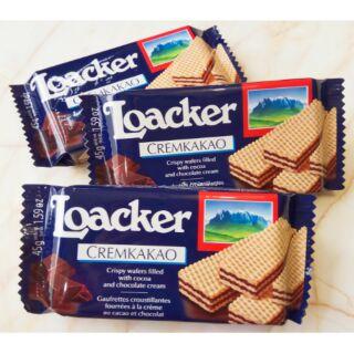 海上飄 Loacker 萊佳 可可哈斯餅45g