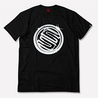 ~STAGE ~STAGE LIGHT TRACES LOGO TEE 黑色羅志祥明星潮牌