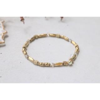 黃銅 手工 手環 1016(愛惜)